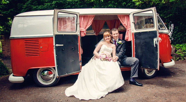 Camper Van Wedding Photography